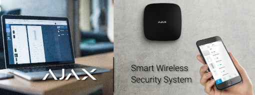Ajax smart wireless security systems